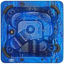 Outdoor whirlpool SPAtec 800B blau