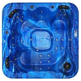 Outdoor whirlpool SPAtec 700B blau